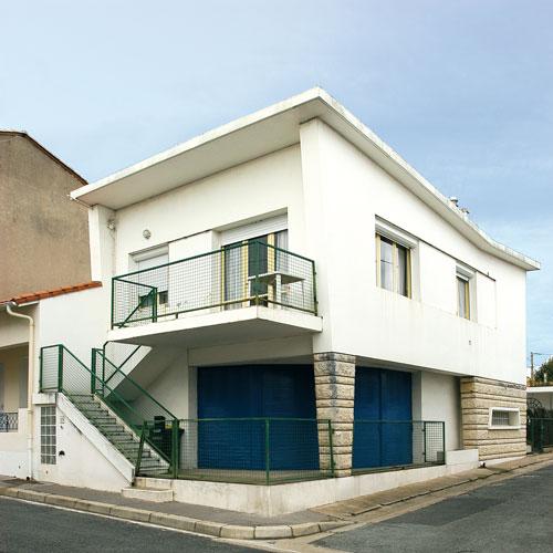 Maison de ville c m moire vive encyclop dique for Architecture 1950